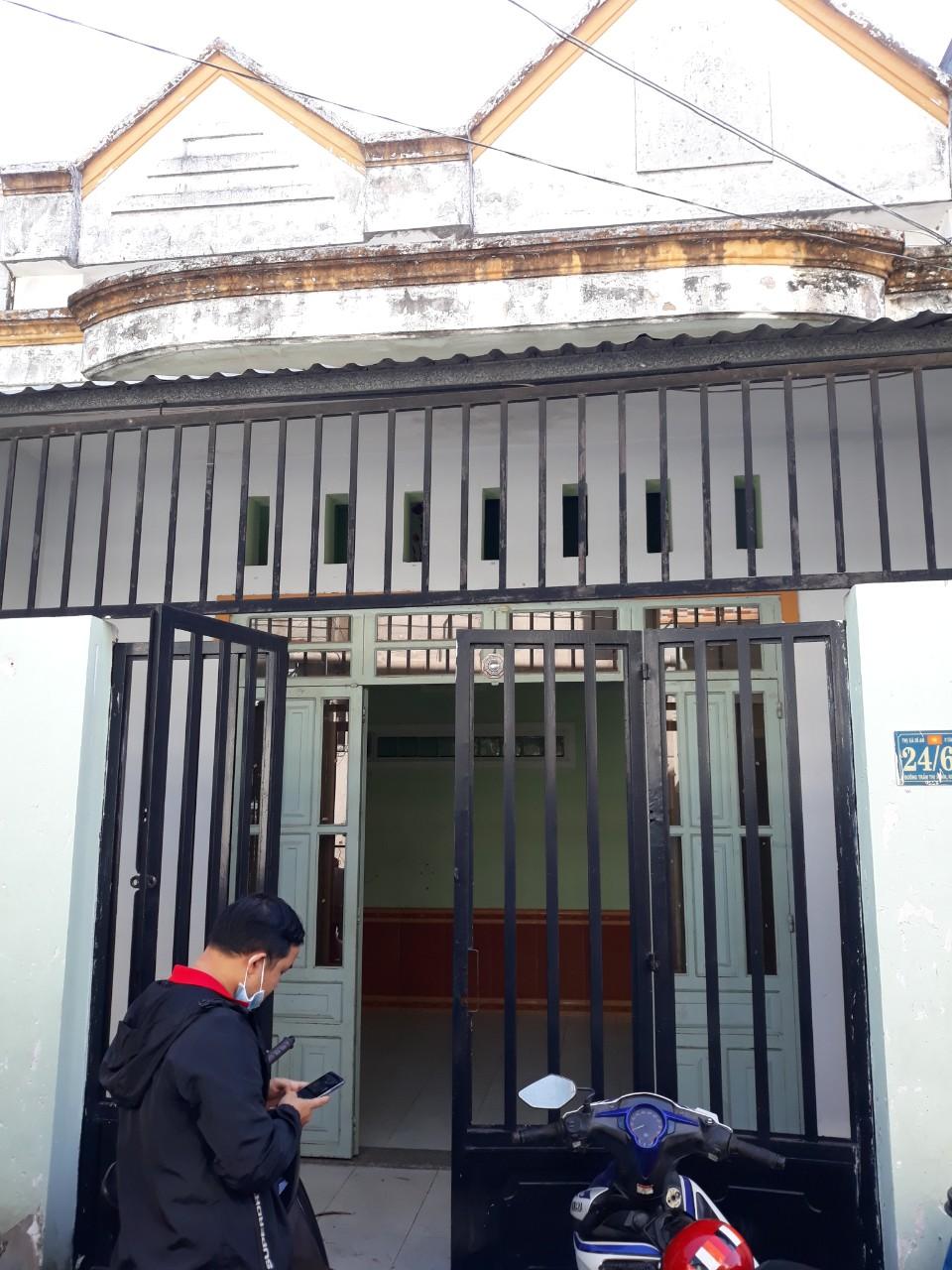 Bán nhà cấp 4,gác đúc giá rẻ đường Trần Thị Xanh,dĩ an,bình dương,69m,2.15 tỷ