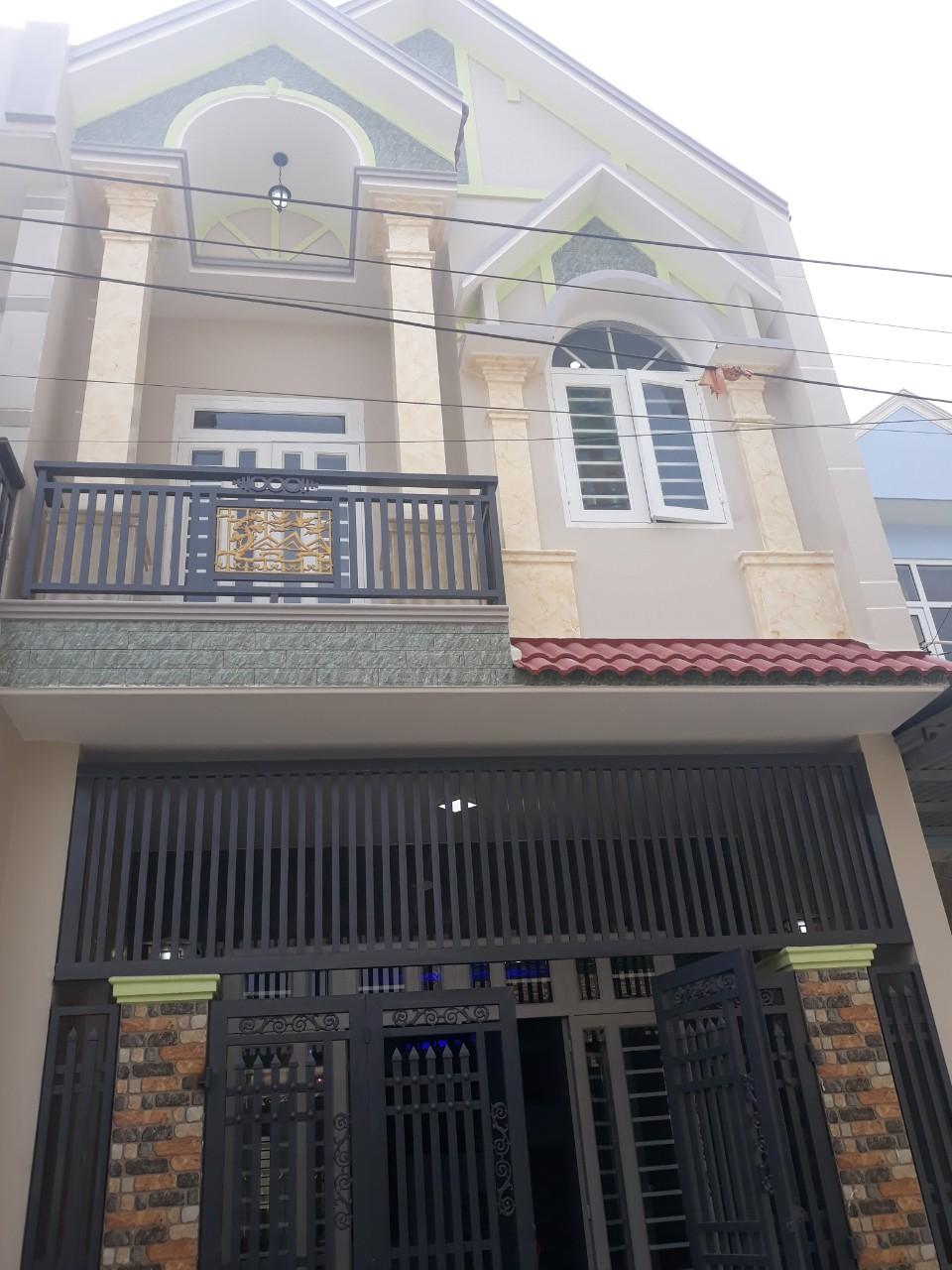 Bán nhà 1 trệt 1 lầu,giá rẻ,gần đường Lý thường Kiệt,dĩ an,bình dương,95m