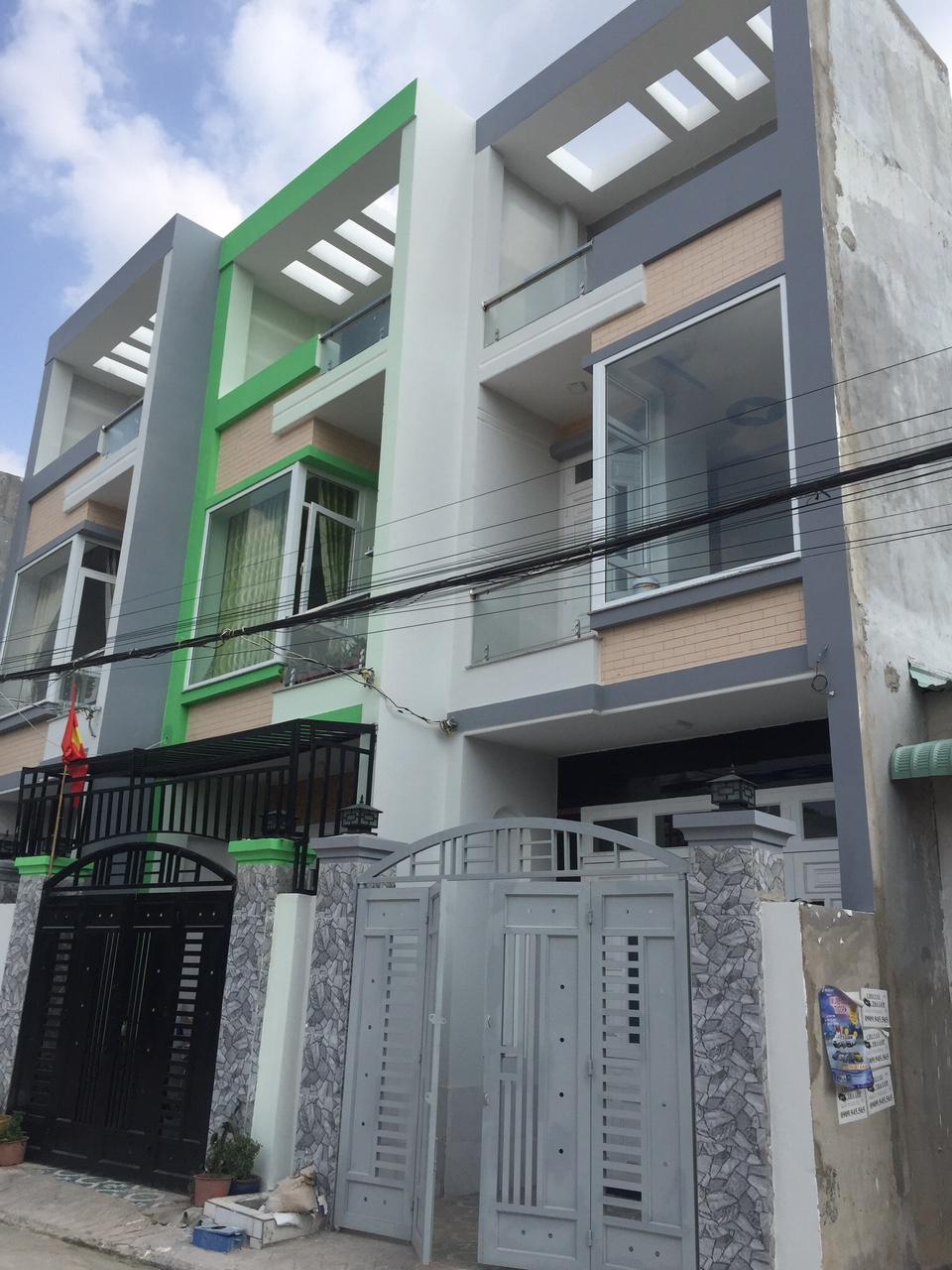 Bán nhà 1 trệt 1 lầu,giá rẻ,đường nguyễn đình chiểu,phường đông hòa,dĩ an, bình dương,100m