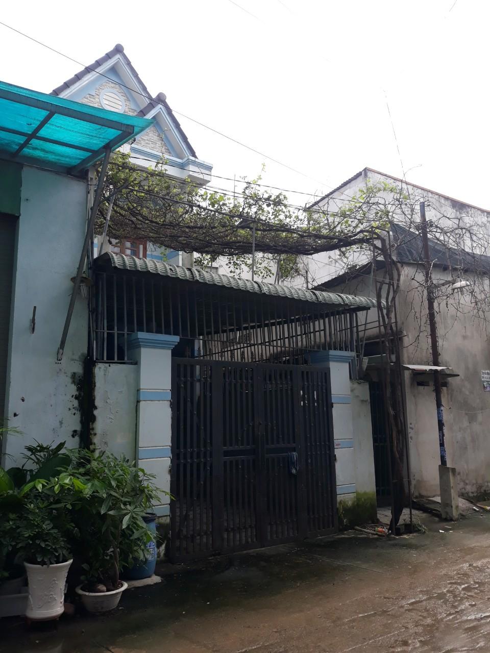 Bán nhà 1 lầu 1 trệt đường Mạch Thị Liễu,Dĩ An,Bình Dương,100m