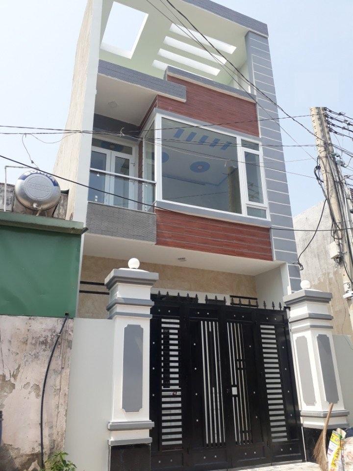 Bán nhà 1 trêt 1 lầu,gần ngã tư bình thung,QL1K,tân đông hiệp,dĩ an,bình dương,60m,giá 2.4 tỷ