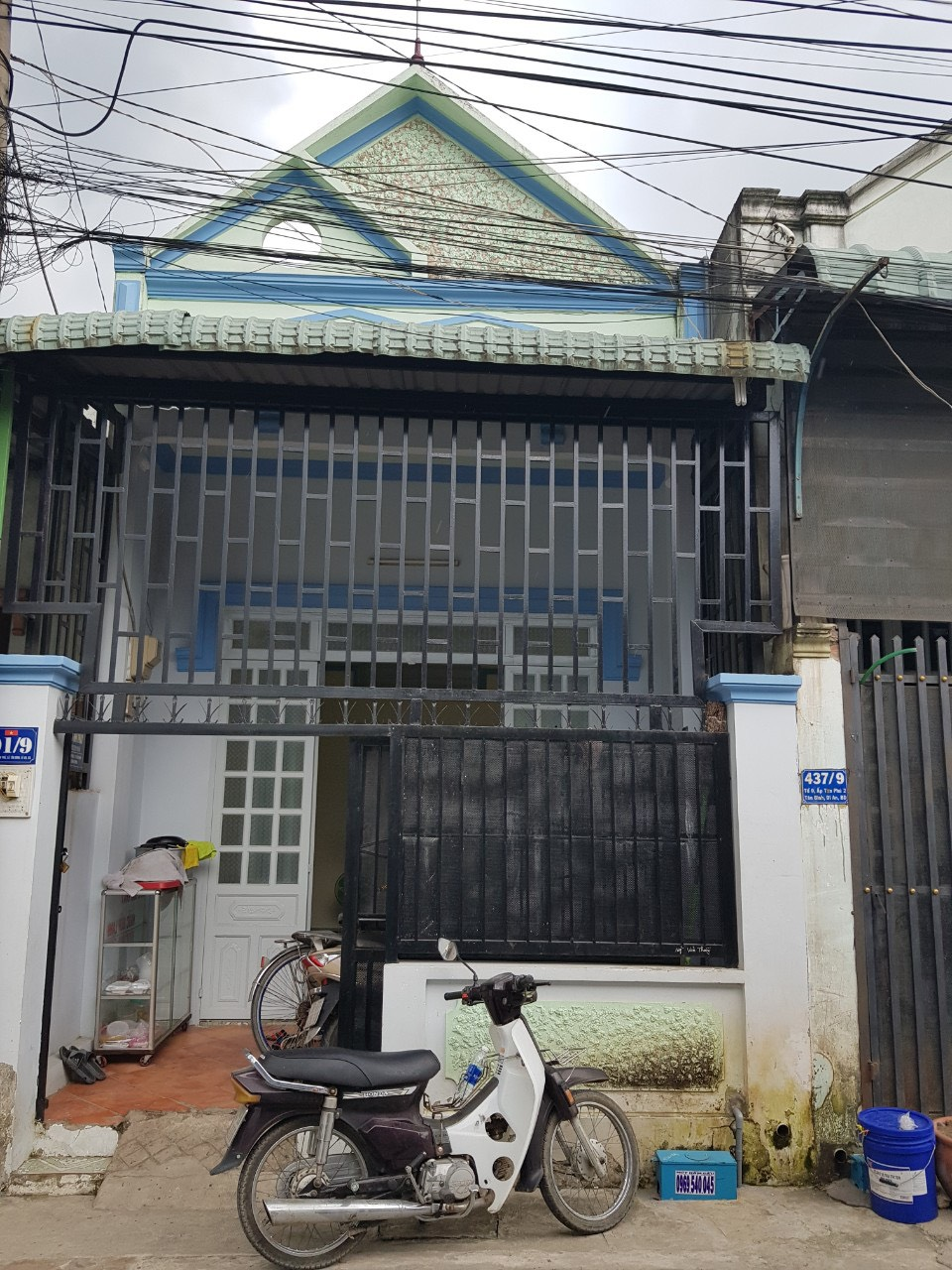 Bán nhà Dĩ An cấp 4 gác lững sổ chung phường Tân Bình thị xã Dĩ An