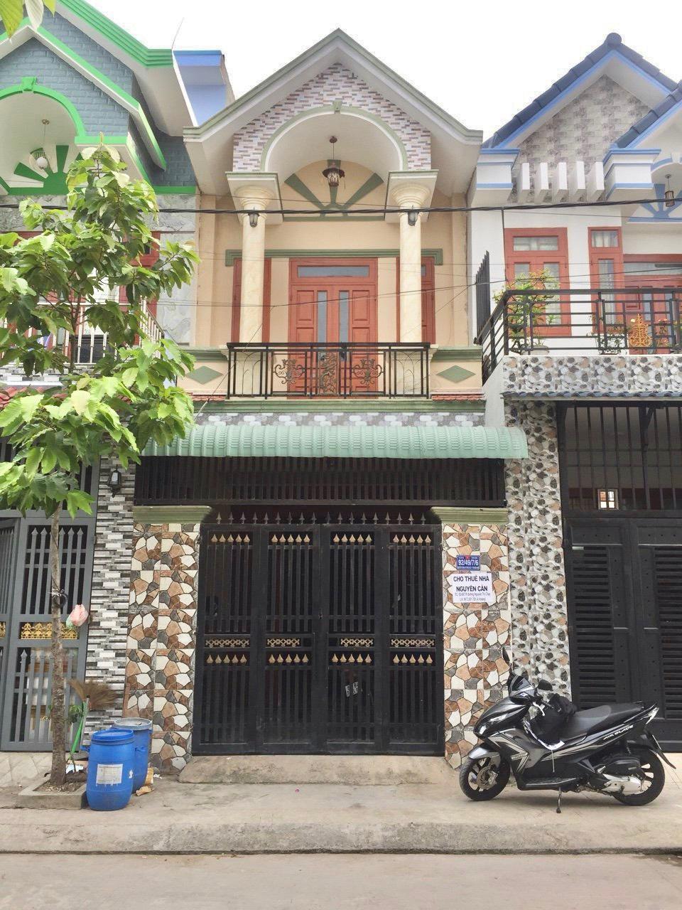 Bán nhà Dĩ An lầu trệt sổ hồng riêng chính chủ phường Tân Đông Hiệp thị xã Dĩ An