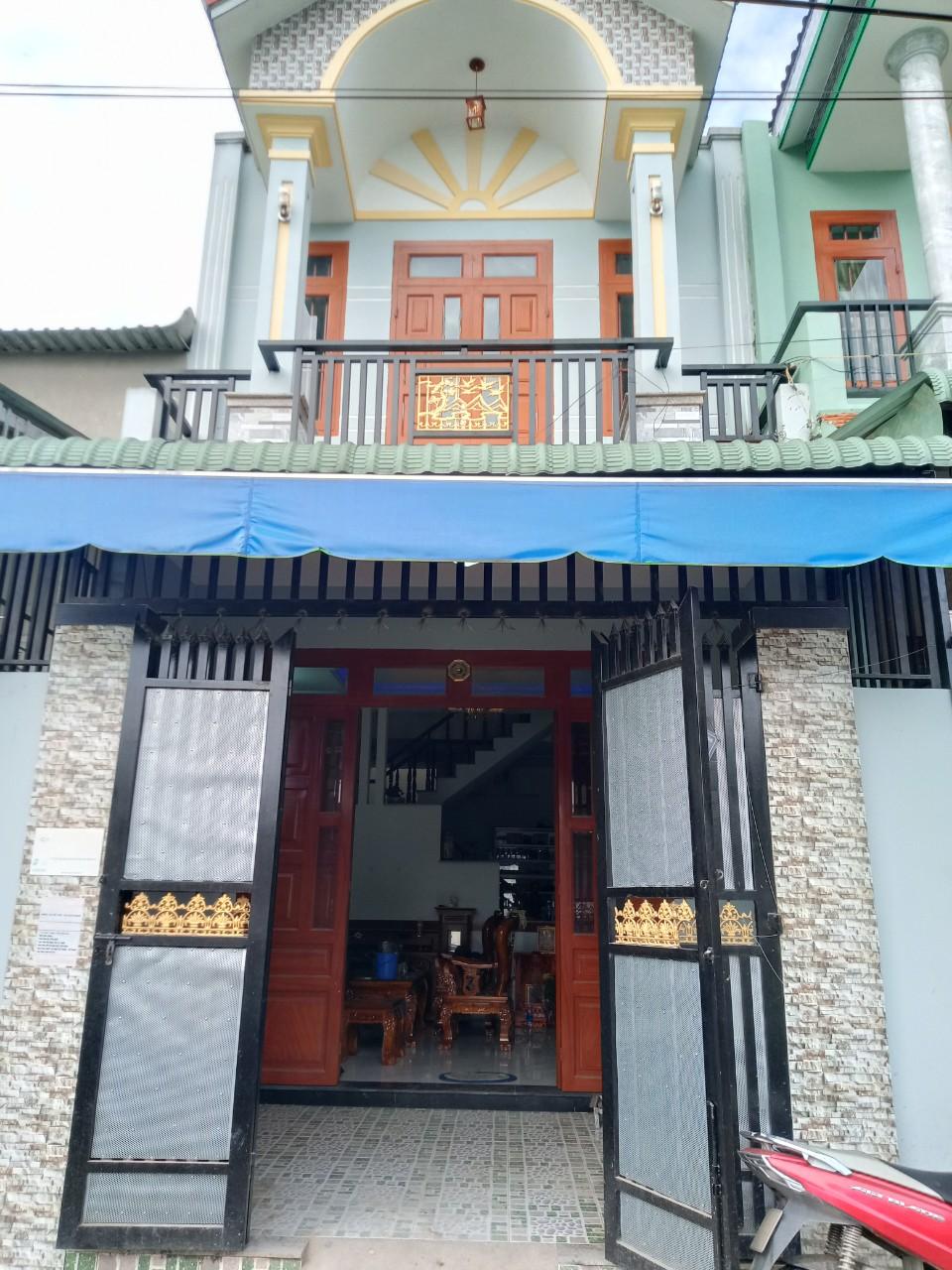 Bán nhà lầu trệt sổ hồng riêng gần khu công nghiệp sóng thần phường Tân Đông Hiệp thị xã Dĩ An