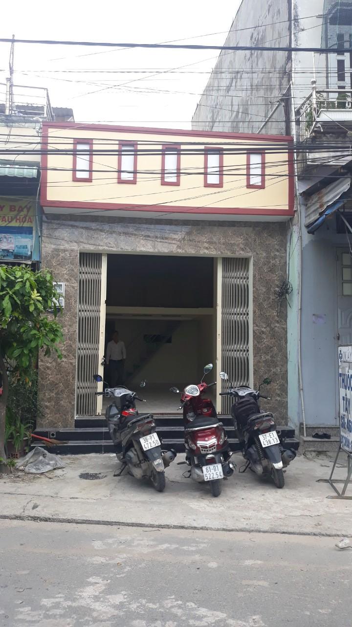 Bán nhà Dĩ An sổ hồng riêng cấp 4 gác đúc mặt tiền buôn bán phường Dĩ An