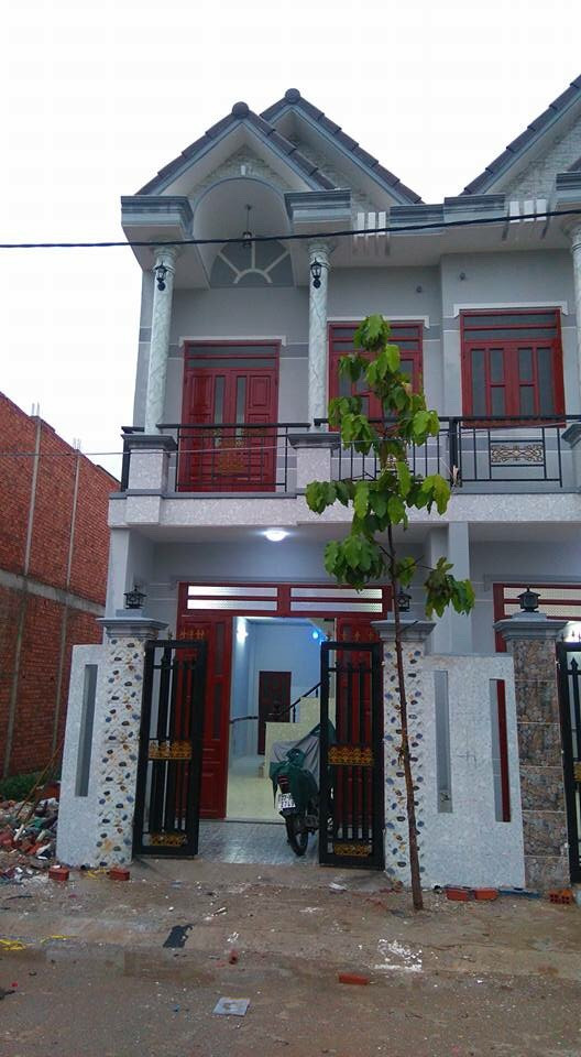 Bán nhà 1 lầu 1 trệt gần khu công nghiệp sống thần