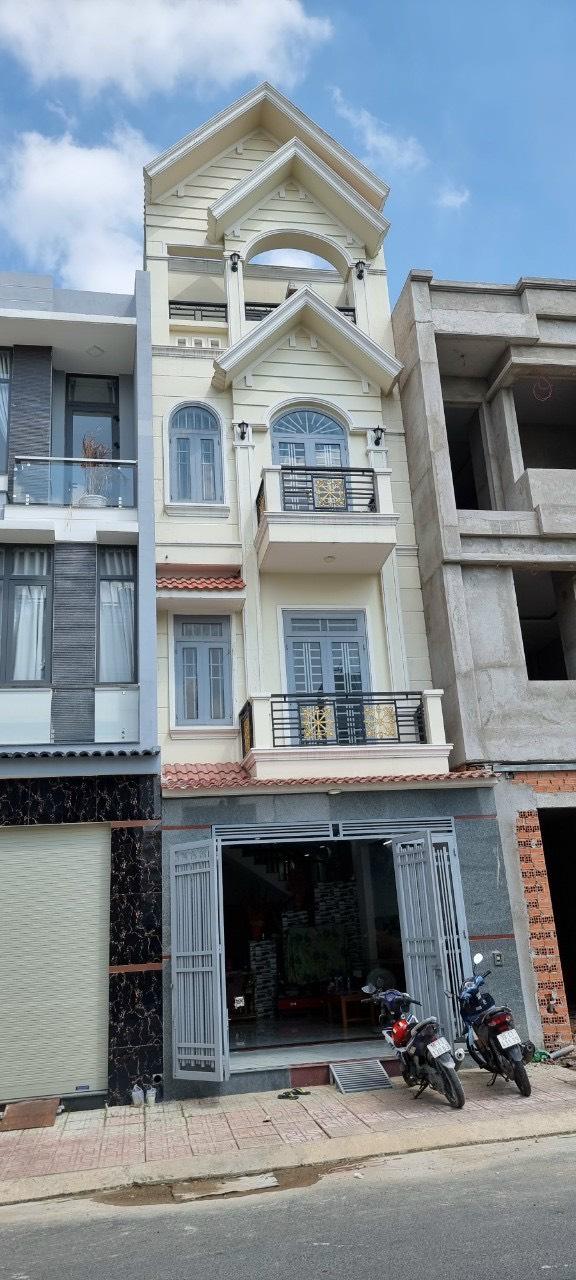 Bán nhà Dĩ An trệt 3 lầu sổ hồng riêng gần quốc lộ 1k phường Bình An , Thành Phố Dĩ An