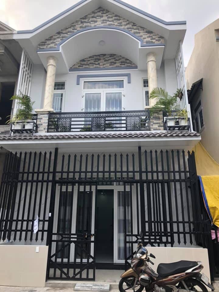 Bán Nhà Thuận An 1 Trệt 1 Lầu Mới Xây Dựng 100% Thổ Cư